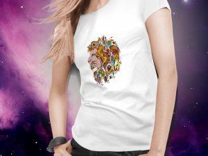 Ženska majica lev