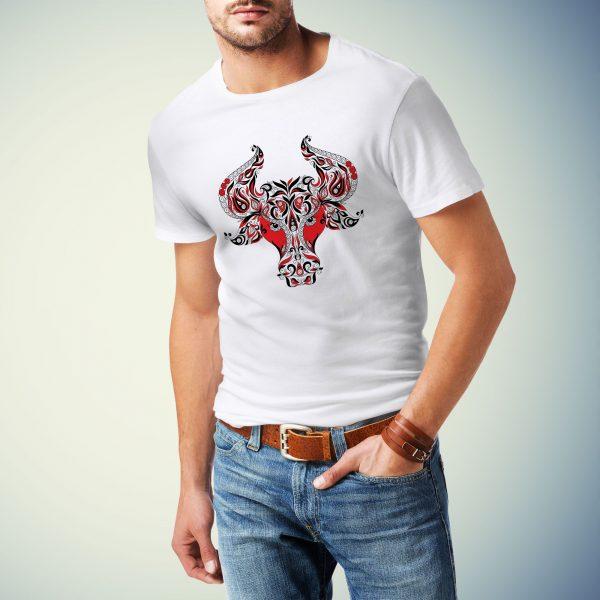Moška majica bik