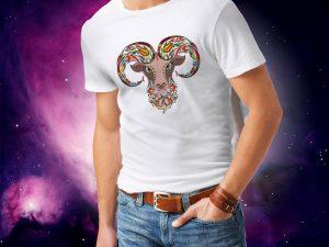 Moška majica OVEN