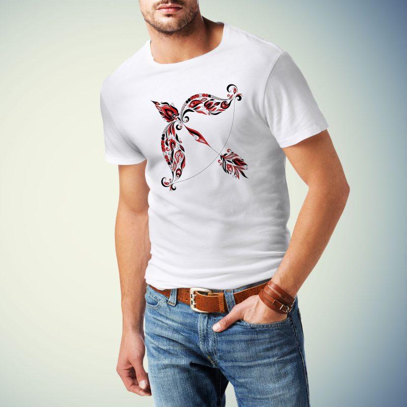 Moška majica strelec