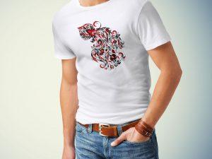 Moška majica vodnar